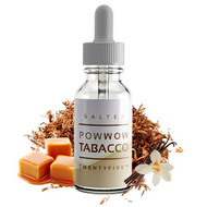 Salted Pow Wow Tobacco  | Salt Drops E-Liquid | 30ml