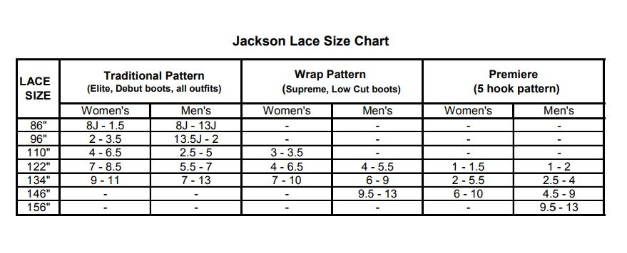 Image result for jackson laces white