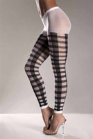 Lattice Work Pattern Leggings