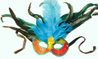 Feathers Mask