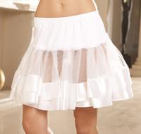 Satin Trim Petticoat