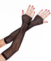 Extra Long Fishnet Gloves
