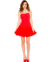 Petticoat Mini Dress