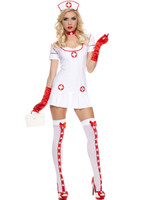 White Naughty Nurse Costume