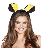 Yellow and Black Bee Headband