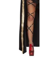 Rhinestone Studded Leg Wraps