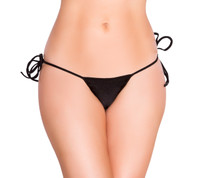 G-String Tie Side Bikini Bottoms