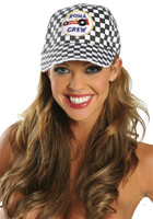 Checkered Racing Cap