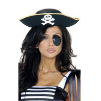 Crossbones Pirate Hat