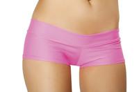 Banded Lycra Booty Shorts