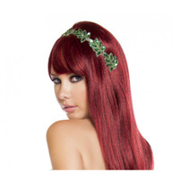 Sequined Ivy Leaf Headband