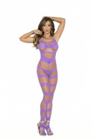 Purple Strappy Bodystocking