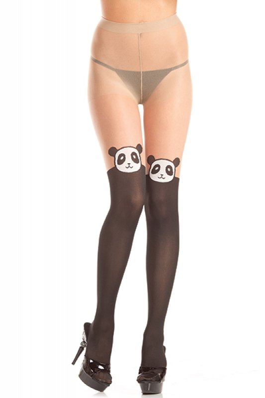 Thigh high tights nudes think