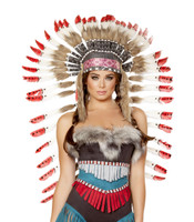 Native Feathered Headdress