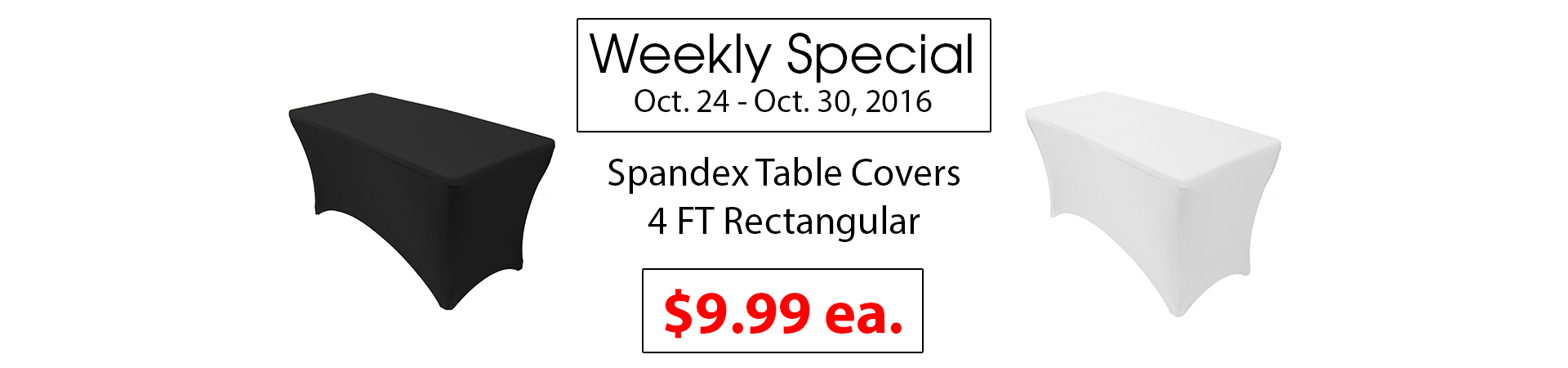 spandex table covers 4ft rectangular