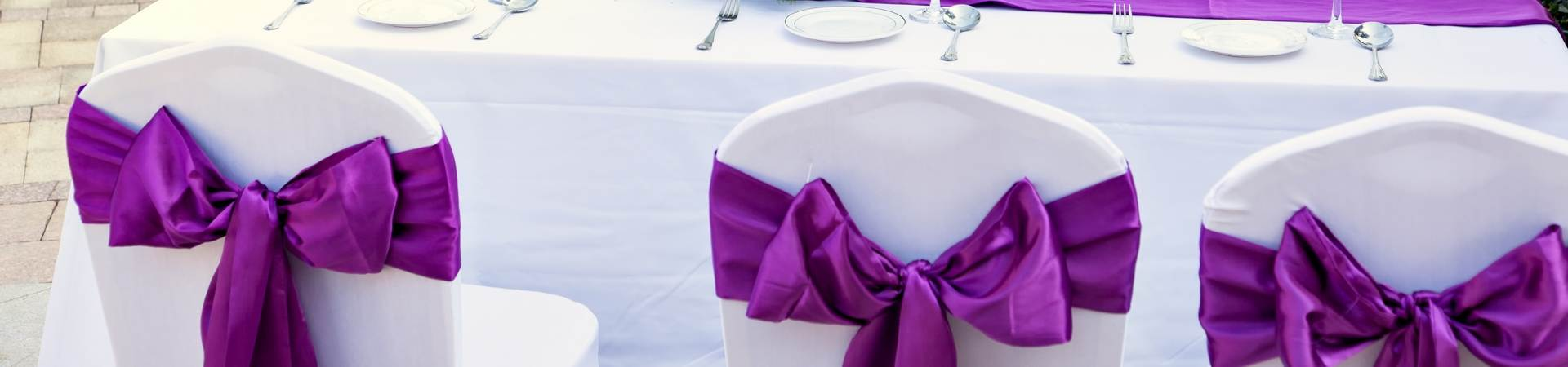 discount chair sashes for weddings