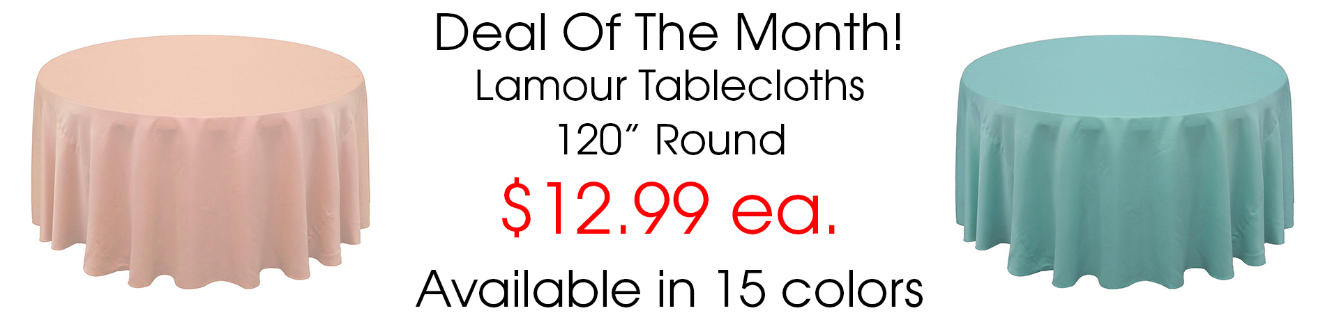 Lamour tablecloths