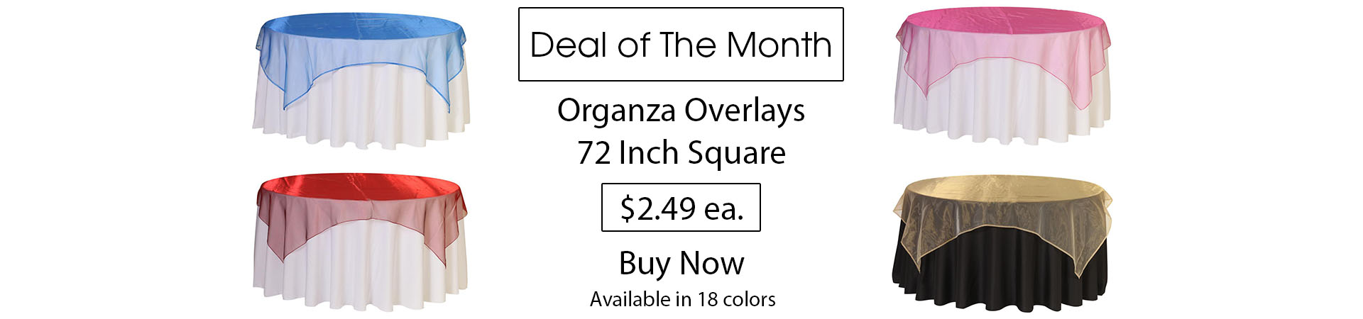 organza overlays