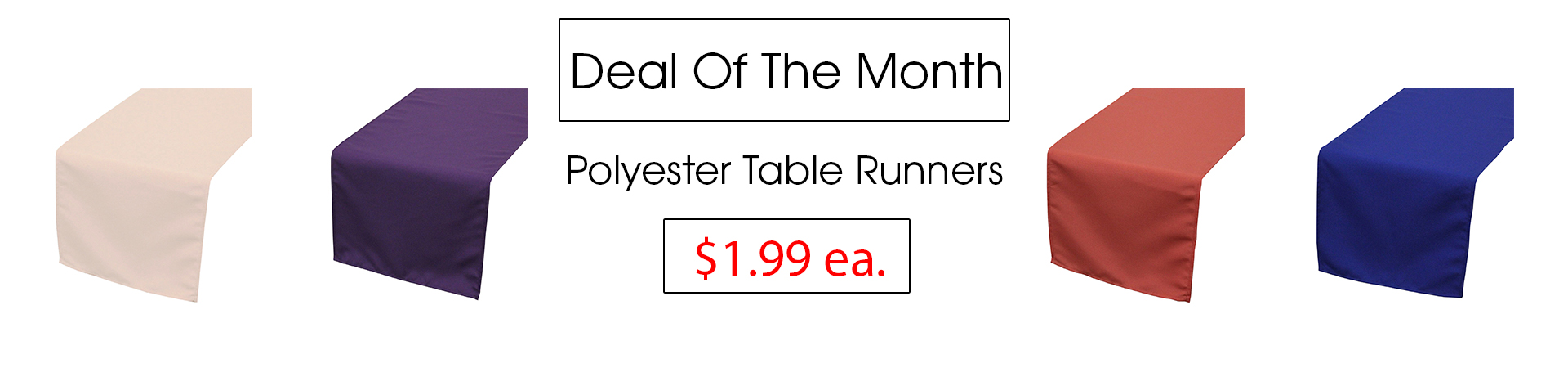 polyester runners