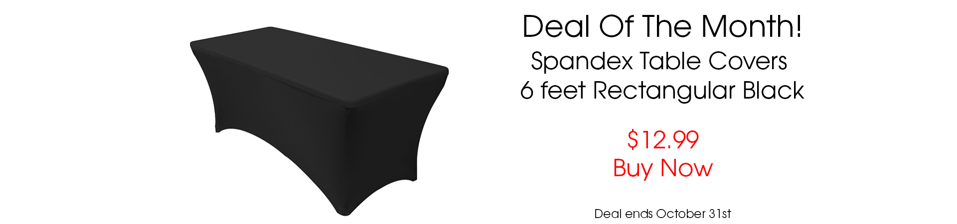 6 ft spandex table covers on sale
