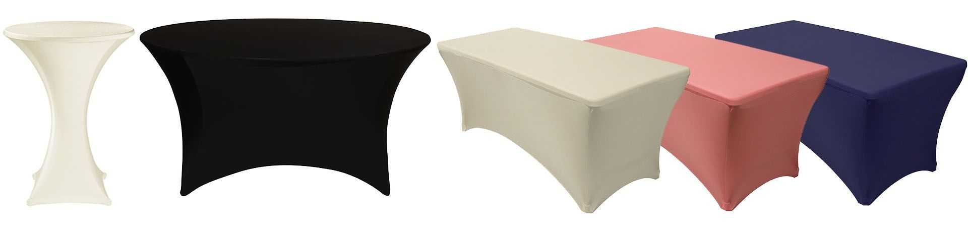 wholesale spandex table covers