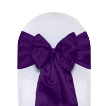 Satin Sashes Purple
