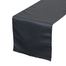 Navy Blue Table Runners, Lamour Table Runners for Weddings and Events