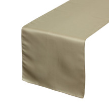 Champagne Table Runners, Lamour Table Runners for Weddings and Events