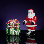 Christopher Radko Splendid Santa Salt &  Pepper