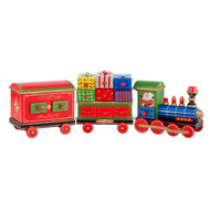 Christopher Radko Home for the Holidays Choo Choo Claus Advent Calendar