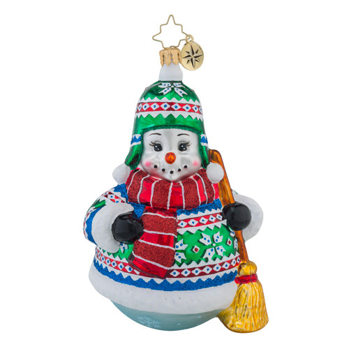 Christopher Radko Snowy Sweaterman