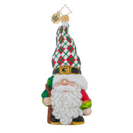 Christopher Radko Gnome for the Holidays