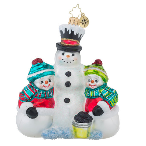 Christopher Radko Frosty Friends