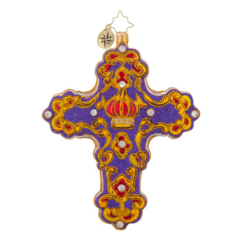 Christopher Radko Crowning Cross