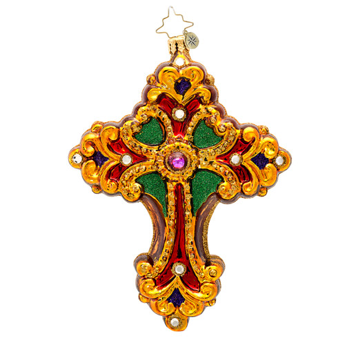 Christopher Radko's Sacred Jeweled Rood