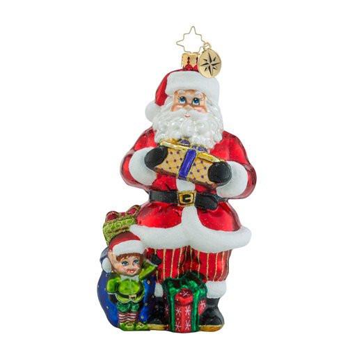 Christopher Radko Santa's Helper