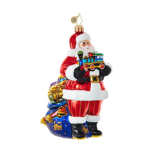 Christopher Radko Choo-Choo Santa