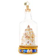 Christopher Radko Sand Castle in a Bottle