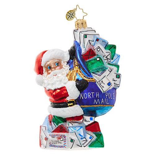 Christopher Radko You've Got Mail, Santa!