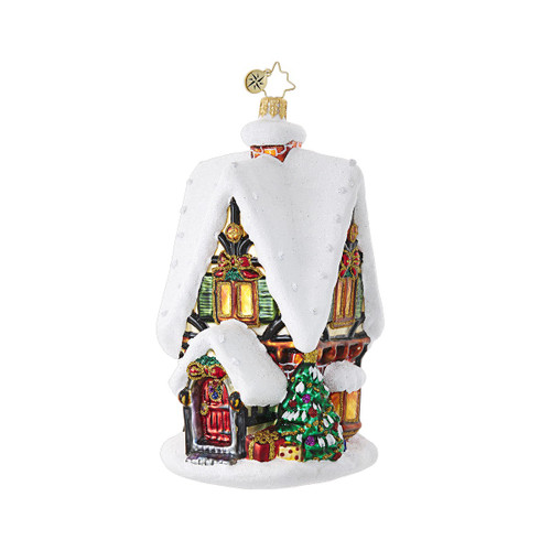 Christopher Radko Frosty Christmas Cottage