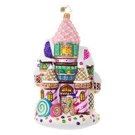 Christopher Radko Candy Castle Christmas