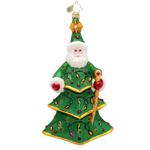 Christopher Radko's Spruced Up Santa
