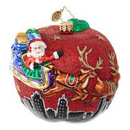 Christopher Radko Santa's Big Apple