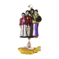 Christopher Radko Yellow Submarine with The Beatles