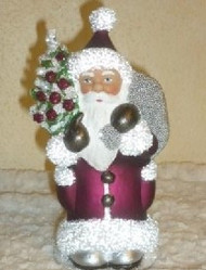 Ino Schaller Santa in Plum