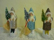 Sample of Assorted Ino Schaller Santas