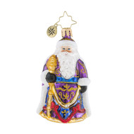 Christopher Radko Santa's Christmas Cape Little Gem -front