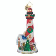 Christopher Radko Lighthearted Lighthouse