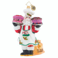 Christopher Radko Sugar And Spice Santa - front