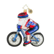 Christopher Radko North Pole Bike Club - front